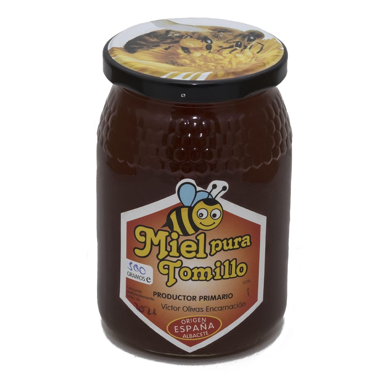Différentes Variétés De Thym miel de thym - pura miel cruda - miel de españa directa del