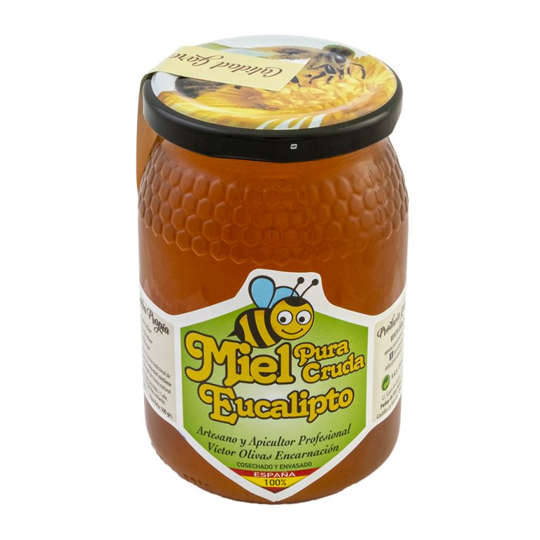 miel cruda de eucalipto