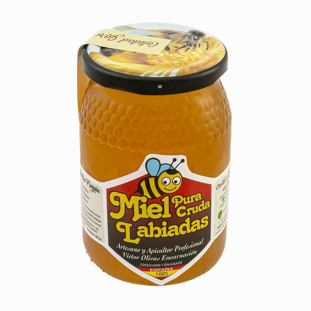 miel cruda de labiadas