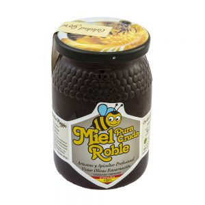 Miel cruda de roble
