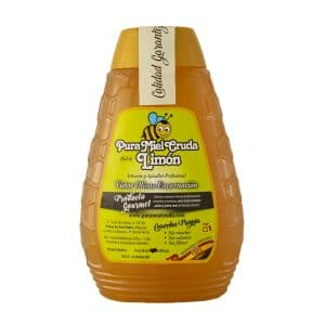 Raw lemon honey